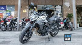 Mô tô Trung Quốc CF 400NK giá 132 triệu, đấu Kawasaki Ninja 400