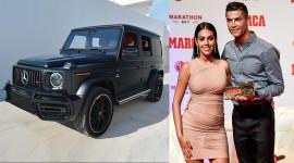 Ronaldo được bạn gái tặng sinh nhật Mercedes-AMG G63 2020