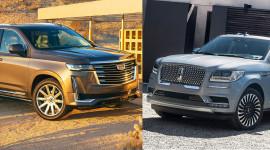 Cadillac Escalade 2021 vs Lincoln Navigator 2020: Cuộc đụng độ của những mẫu SUV cỡ lớn