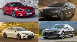 Top 10 xe gia đình tốt nhất 2020: Camry, Accord đều góp mặt