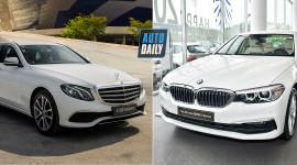 Hơn 2 tỷ đồng, chọn BMW 520i hay Mercedes E 200 Exclusive mới?