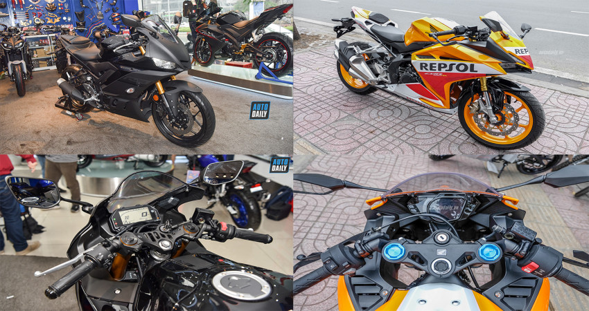 Chọn Yamaha YZF-R3 ABS 2020 hay Honda CBR250RR ABS Repsol?