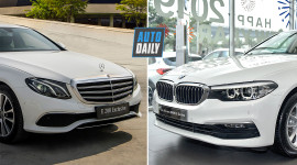Mercedes E200 Exclusive vs. BMW 520i - Cuộc chiến xe Đức tầm giá hơn 2 tỷ