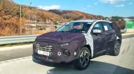 Hyundai Tucson thế hệ mới lộ diện tại Hàn Quốc