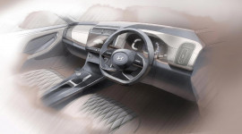 Hyundai nhá hàng nội thất Creta 2020, khá khác biệt so với IX25