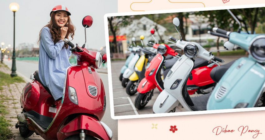 Điểm mặt các mẫu xe điện thời trang Dibao tại Việt Nam