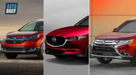 1 tỷ, chọn Honda CRV, Mazda CX5 hay Mitsubishi Outlander: Crossover nào NGON NHẤT?