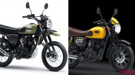 """Kawasaki trình làng biến thể """"xế cổ"""" W175 Cafe và W175TR SE 2020"""