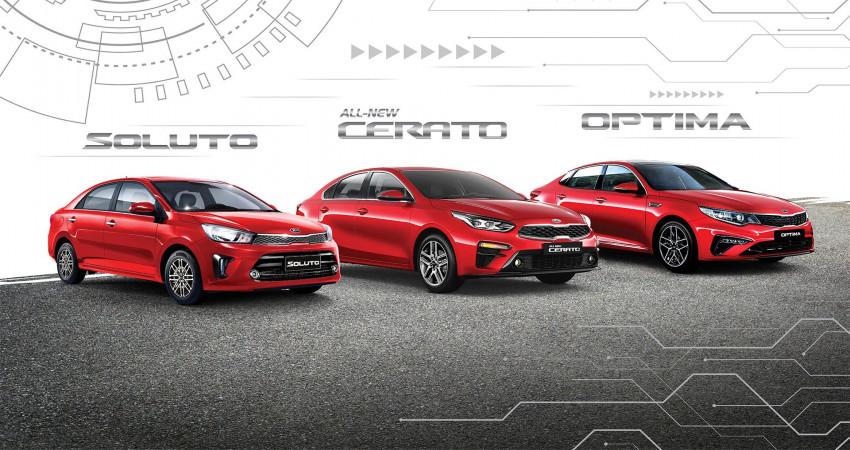 Trải nghiệm công nghệ trên 3 xe Sedan Kia