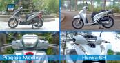 So sánh Piaggio Medley 2020 và Honda SH 2020 - Cuộc chiến xe tay ga cỡ lớn