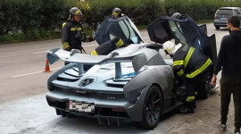 Chiếc McLaren Senna thứ 3 bị cháy, lần này là tại Bồ Đào Nha