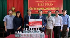 Toyota Việt Nam ủng hộ thiết bị y tế phòng chống dịch Covid-19