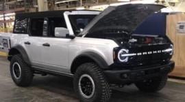 SUV địa hình Ford Bronco 2021 chốt ngày ra mắt vào 18/3?