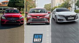 Tầm 1,3 tỷ đồng, chọn Mercedes-Benz C180, Toyota Camry hay Honda Accord?