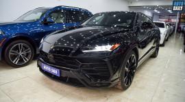 Lamborghini Urus màu đen đầu tiên về Việt Nam, định cư tại Hà Nội