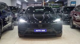 Ảnh chi tiết Lamborghini Urus màu đen đầu tiên Việt Nam
