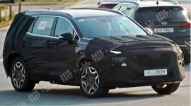 Hyundai Santa Fe phiên bản Hybrid lộ diện trên đường thử