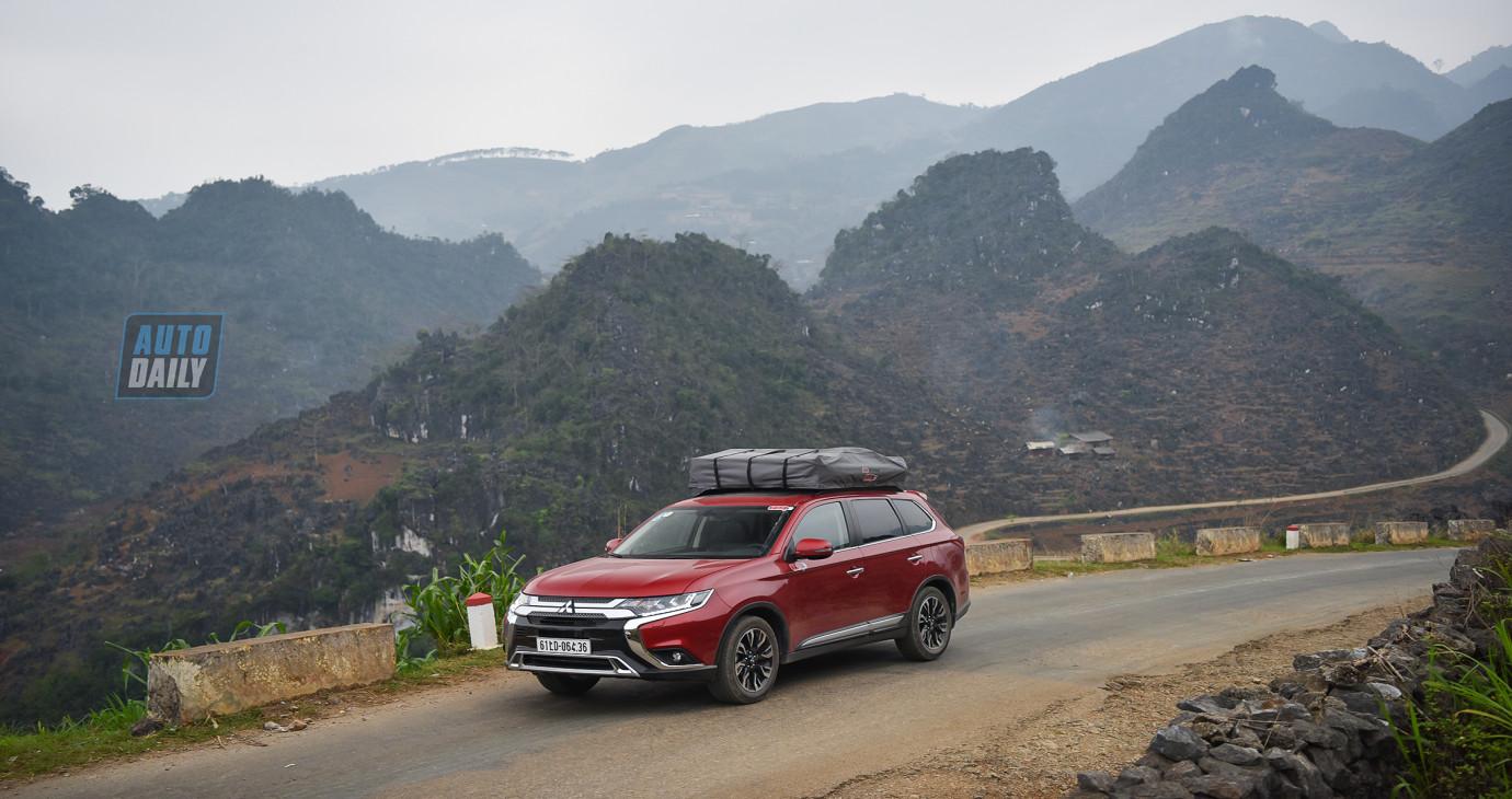 Đánh giá Mitsubishi Outlander 2020 qua hành trình 1.000 km chinh phục Hà Giang