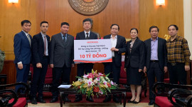 Honda Việt Nam ủng hộ 10 tỷ đồng chống dịch Covid-19