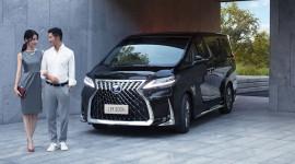 Lexus LM 2020 ra mắt tại Thái Lan, giá từ 3,9 tỷ đồng