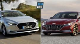 So sánh Mazda 3 2020 và Hyundai Elantra 2021 - Cuộc chiến xe Nhật - Hàn