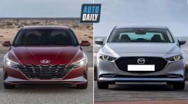 Hyundai Elantra 2021 vs Mazda3 2020: Chọn sedan Hàn hay Nhật?