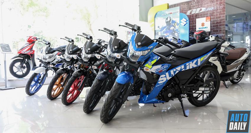 Xem thêm ảnh Suzuki Raider R150 2020