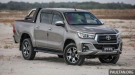 Toyota Hilux phiên bản nâng cấp sắp ra mắt, động cơ 2.8L mạnh mẽ hơn