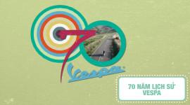 70 năm lịch sử của Vespa - Huyền thoại nước Ý