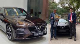 HLV Mai Đức Chung nhận VinFast Lux A2.0 1,35 tỷ đồng