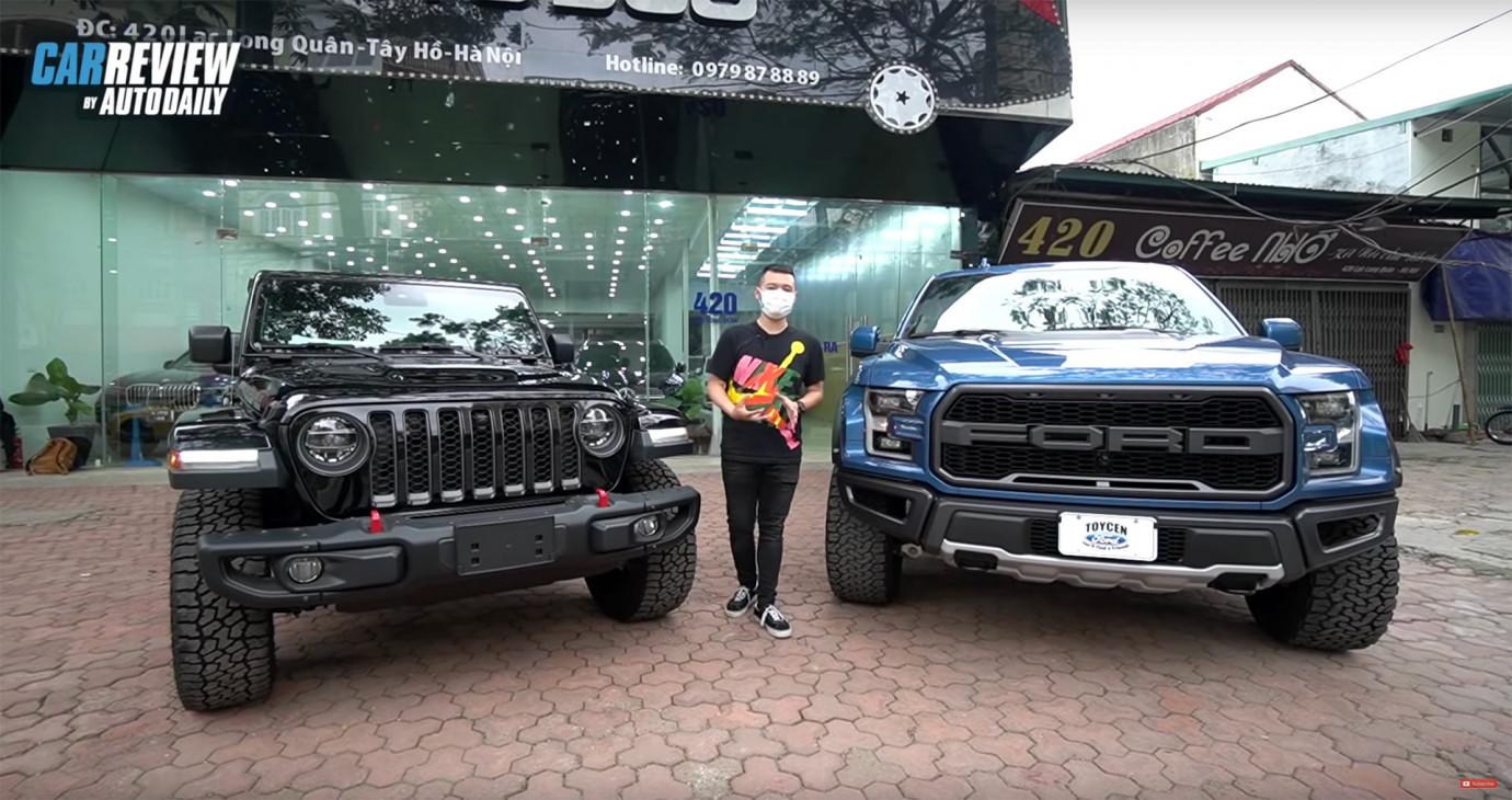 Đồng giá 4 tỷ, Ford F150 Raptor có chất hơn Jeep Rubicon Gladiator?