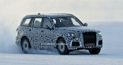 Hãng xe Nga thử nghiệm SUV mới trông như Cullinan