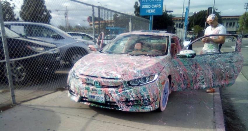 Honda Civic bản độ cực dị khiến ai cũng phải ngỡ ngàng