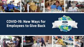 Nhân viên Ford Việt Nam cùng Quỹ Ford giúp đỡ cộng đồng chống dịch Covid-19