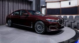 BMW 750Li 2020 đẹp hút hồn trong sắc đỏ Royal Burgundy