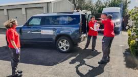 Jaguar Land Rover tiếp tục góp sức chống dịch Covid-19