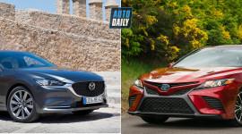Chọn Toyota Camry 2020 hay Mazda6 2020?