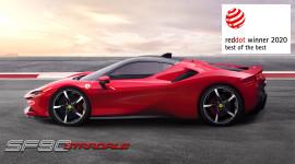 Ferrari giành chiến thắng lớn tại Giải thưởng Red Dot 2020