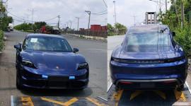 Siêu phẩm chạy điện Porsche Taycan Turbo đầu tiên về Việt Nam