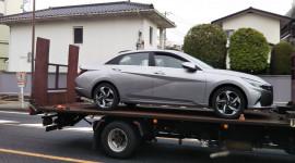 Hyundai Elantra 2021 bất ngờ xuất hiện tại Nhật Bản