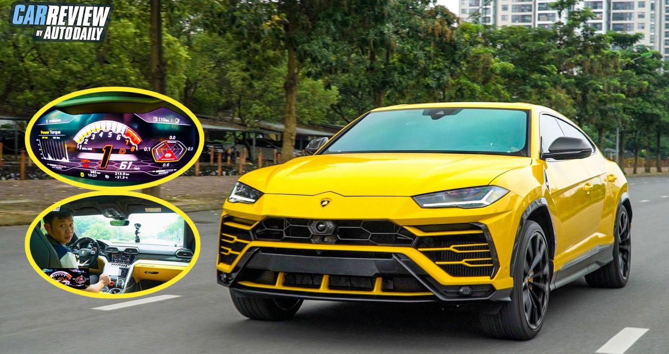 Chạy thử Lamborghini Urus 2020 bản 4 chỗ, SUV TRIỆU ĐÔ độc nhất Việt Nam