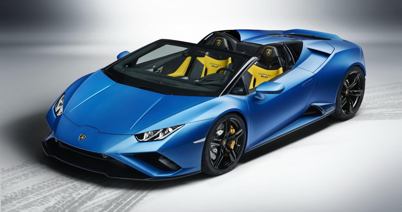 Lamborghini Huracan EVO RWD Spyder ra mắt, giá từ 229.428 USD