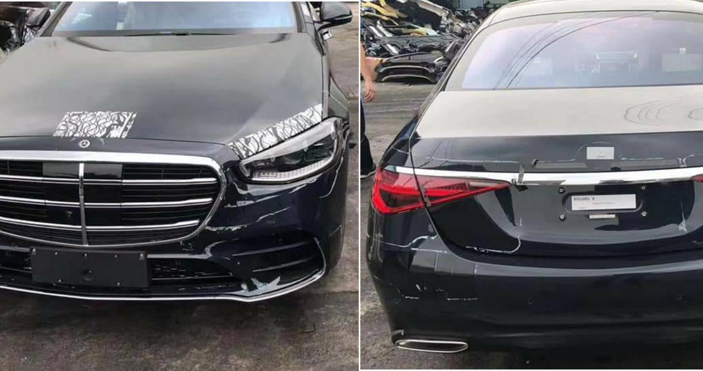 Mercedes-Benz S-Class 2021 lộ ảnh gây tranh cãi