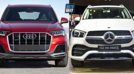 So sánh Audi Q7 2020 và Mercedes-Benz GLE 2020