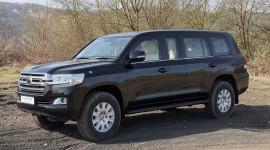 Diện kiến Toyota Land Cruiser phiên bản Limousine chống đạn