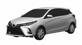 Toyota Yaris facelift 2021 lộ diện: Hầm hố và hiện đại hơn