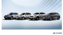 20 năm lịch sử phát triển với 4 thế hệ của Hyundai Santa Fe