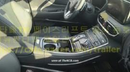 Rò rỉ ảnh nội thất hiện đại của Hyundai Santa Fe nâng cấp
