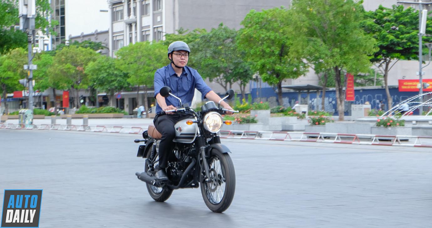 Người dùng đánh giá Kawasaki W175 SE sau 2 tháng cầm lái