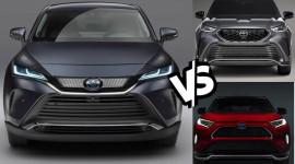 So sánh Toyota Venza 2021 với RAV4 và Highlander